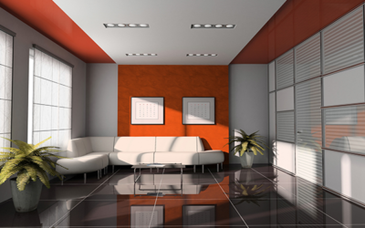 Home Decor – Orange Accents